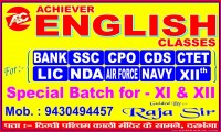 ACHIEVER ENGLISH CLASSES