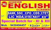 ACHIEVER ENGLISH CLASSES