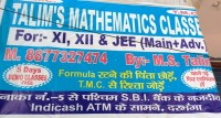 TALIM'S MATHEMATICS CLASSES