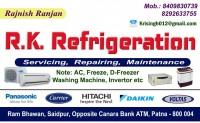 Rk  Refrigeration Saidpur, Patna 8409830739