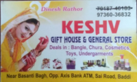 Keshv Gift House and General Store Baddi