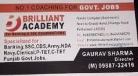 Brilliant Academy Pathankot Punjab