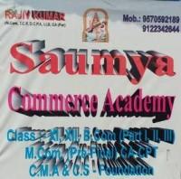 SAUMYA COMMERCE ACADEMY