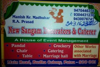 NEW SANGAM DECORATORS & CATERER