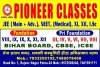 PIONEER CLASSES