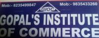 GOPAL INSTITUTE OF COMMERCE