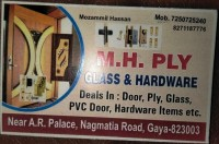 MH PLY GLASS AND HARDWARE ITEMS