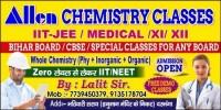 ALLEN CHEMISTRY CLASSES
