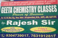 GEETA CHEMISTRY CLASSES
