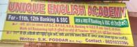 UNIQUE ENGLISH ACADEMY