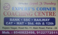 EXPERT CORNER COACHING CENTRE
