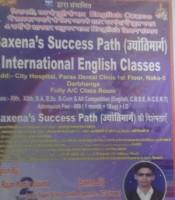 SAXENA SUCCESS PATH INTERNATIONAL ENGLISH CLASSES