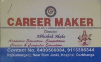 CAREER MAKER DARBHANGA