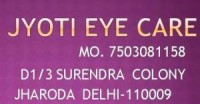 BEST EYE OPTICAL CENTER IN JHARODA BURARI DELHI-95992 33316