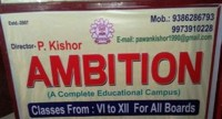 AMBITION (A COMPLETE EDUCATIONAL CAMPUS)