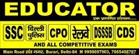 EDUCATOR INSTITUTE BURARI DELHI - 9990697903