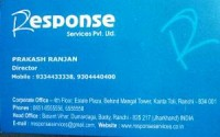 RESPONSE SERVICES PVT LTD.