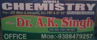 DR AK SINGH CHEMISTRY CLASSES