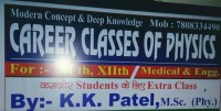 CAREER CLASSES OF PHYSICS