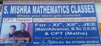 S. MISHRA MATHEMATICS CLASSES