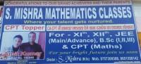 S. MISHRA MATHEMATICS CLASSES