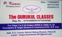 THE GURUKUL CLASSES